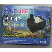 Bomba De Agua 2 - 3 W C/luz Para Fuente Feng Shui
