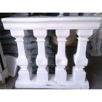 Balaustrada Para Jadin En Cemento (fabricante Directo)