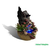 Fuentes De Agua Feng Shui, C/ Piedras Naturales Y Luces Led.