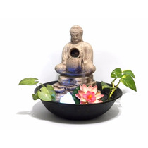 Fuente De Agua Feng Shui Buda 2 Caidas **c/luz**