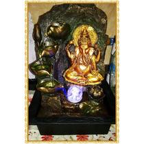 Ganesha Fuente De Agua... Con Luces ..dia De La Madre