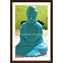 Buda Estatua Meditando...27cm Alto