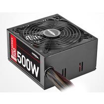 Fuente Pc Sentey Brp-500 500w Reales Gamer Data Computacion