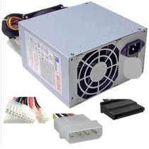 Fuente Atx Pc 500w Sata Molex Ide Motherboard Con Cooler Pro