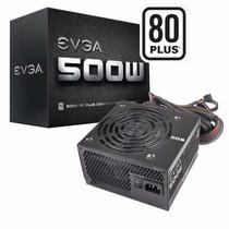 Fuente Evga 500w 80 Plus Sata 6 Pci-e 2