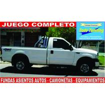 Fundas Asiento Butaca Ford F 100 Tela Rustica Dura Excelente