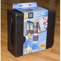 Porta Cd/dvd Case Logic Ksw320 Para 336 Unid.p/dj.cuero Imp.