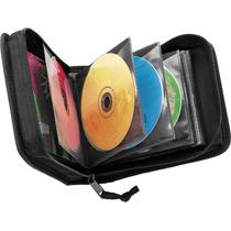 Porta Cd/dvd Case Logic Cdw32 Para 32 Unid.p/dj.nylon Imp.