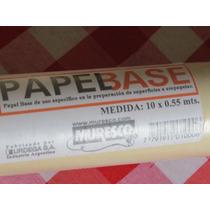 Papel Base Muresco 0.55 X 10mts, Para Empapelados En Palermo
