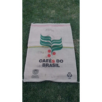 Bolsa De Arpillera Cafés Do Brasil