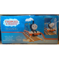 Cortina Thomas And Friends 1.40 X 2 Metros