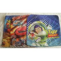 Fundas Para Almohadones De Cars Y Toy Story!! Impecables!!