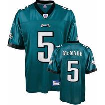 Camiseta Nfl Philadelphia Eagles Reebok #5 Mcnabb Xl Juvenil
