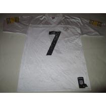 Camiseta Football Americano Steelers Roethlisberger #7 Nfl
