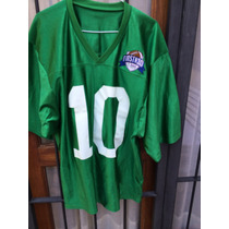 Camiseta Football Usa Universitaria,#10 (bravo) ,talle L