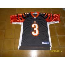 Camiseta De Futbol Americano Cincinnati Bengals # 3 Reebok