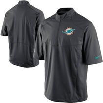 Buzo Miami Dolphins Hot Jacket Nike Talle Xl Nfl Impermeable