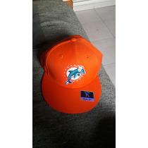 Gorra Snapback Nfl Miami Dolphins Nueva