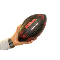 Pelota Futbol Americano Nemesis/rojo Nfl Wilson Lelab 5134