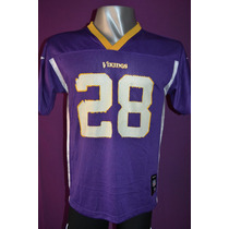 Camiseta Nfl Minnesota Vikings, Reeboks, #28 Peterson.