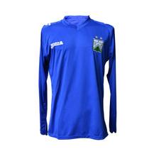 Buzo Arquero Joma Ferro Camiseta Manga Larga Azul Bordado Xl
