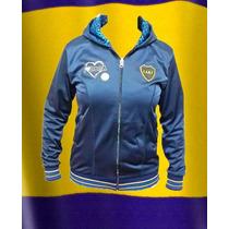 Campera Dama Boca Juniors Oficial