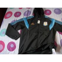 Campera Adidas De Argentina C/capucha Talle L