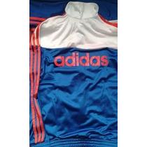 Conjunto Adidas Originals 100% Autentico Azul Francia Rojo