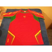 Camiseta De Futbol De Portugal