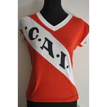 Remera Dama Cai Independiente Avellaneda