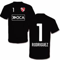 Remera Algodon Independiente Ruso Rodriguez