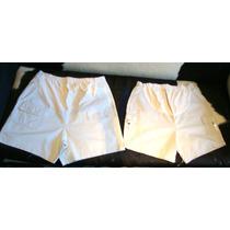 2 Shorts Para Embarazadas Importados Usa - Talle M Y L