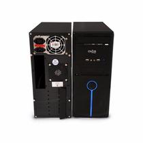 Gabinete Overtech Atx Ox-540 Blue Fuente De 500w Dmaker