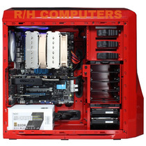 Gabinete Pc Gamer Nzxt Shiny Red Series 410 Exc. Ultima Rev!