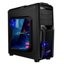 Gabinete Pc Gamer Sentey Triac / Blade Coolers Ventana Usb3