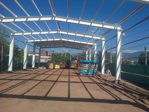 Galpones, Fabricacion Alma Llena, Estructuras Metalicas
