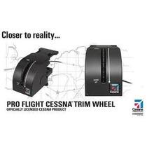 Saitek Pro Flight Trim Wheel Cessna Sun Hard