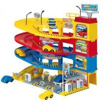 Estacionamiento 3 Rampas - Garage Estacion Rondi Con Sonido