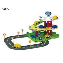 Pista Didactico Garage De Autos 3 Niveles Rondi 3405
