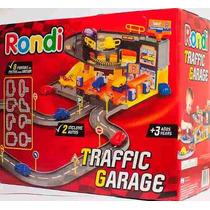 Rondi Traffic Garage Pista + 2 Autos Estacionamiento Sipi