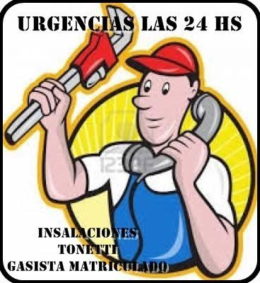 Gasista Matriculado Instalaciones Tonetti Acepta Mercadopago