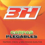 Gazebo 3h Carpa Plegable 3x3 Aluminio Sin Paredes + Funda