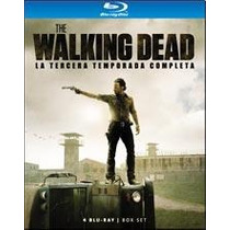Blu Ray Walking Dead Temp 3 Box Set Nuevo Original