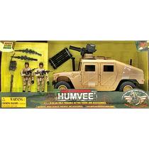 Vehiculo Humvee Hummer Con Soldados Tipo Gi Joe Bbi + Armas
