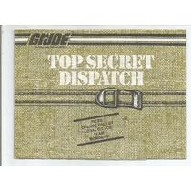 Gi Joe Top Secret Dispatch / Catalogo / Usa / Dec 80´ Hasbro