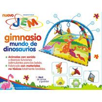 Gimnasio Para Bebes Dinosaurios Manta Didáctica Peluche