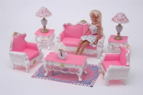Muebles de barbie imagui for Muebles para barbie