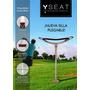 Silla Para Golfistas - 100% Aluminio Y Cuero Vacuno -