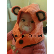Gorrito Capucha Tejidos Al Crochet