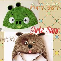 Gorritos Tejidos A Crochet Para Bebes Y Niños
